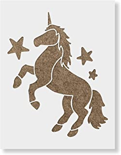 Unicorn Stencil Template - Reusable Stencil with Multiple Sizes Available