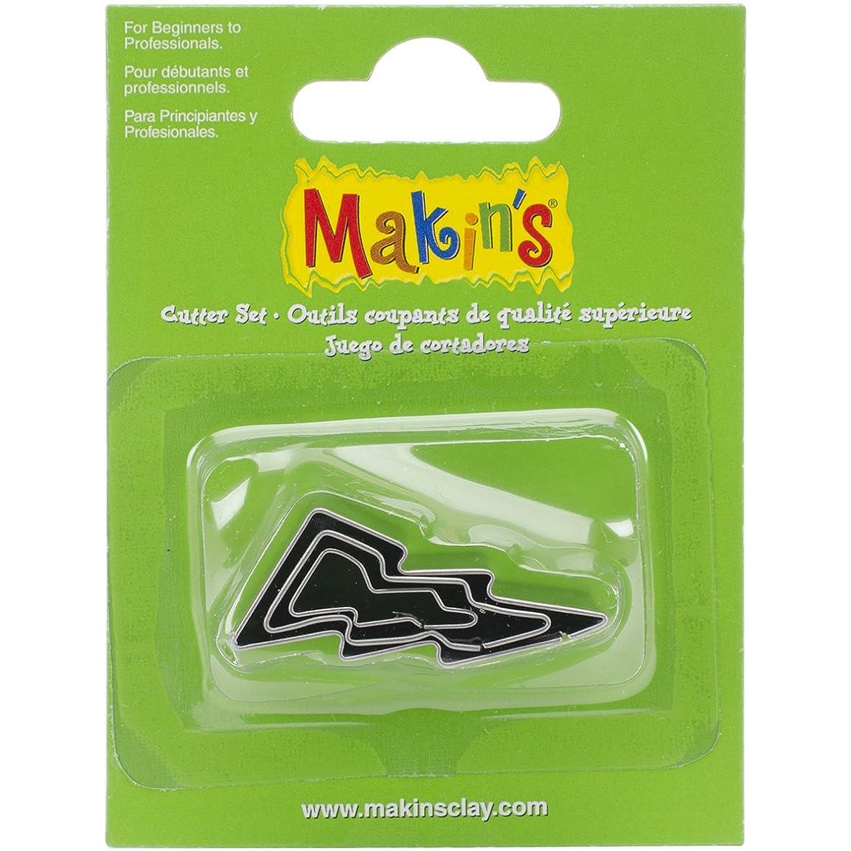Makin's USA Makin's Clay Cutters 3/Pkg-Lightning Bolt