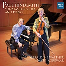 Paul Hindemith: Sonatas for Viola and Piano