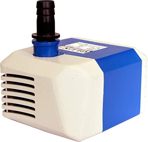 GLUN Submersible Pump for, Aquarium, DIY Fountains, Projects, 18W, 1.6 m(Design & Colo May Vary)