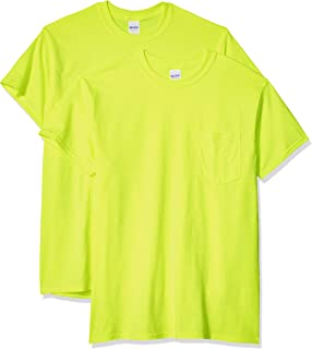 Gildan Men's Ultra Cotton Adult T-Shirt with Pocket, 2-Pack