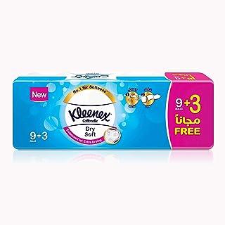 Kleenex Toilet Tissue Dry Soft, 200 Sheets  - 8ply, 9+3 Rolls