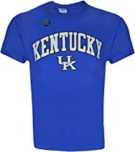 University of Kentucky Wildcats UK Basketball Kentucky Arch T Shirt Short Sleeve Blue