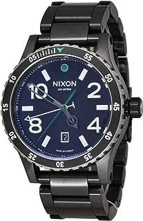 NIXON Men's Quartz Watch with Stainless Steel Strap, Black (Model: A277-1421)