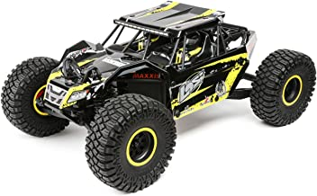 Losi 1/10 2.2 Rock Rey 4WD RC Rock Racer Brushless RTR with AVC and 2800Kv Brushless Power System (Battery and Charger Not Included), Yellow