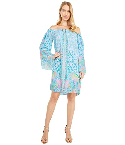 Lilly Pulitzer Nevie Dress (Multi Caribbean Citrus Engineered) Women