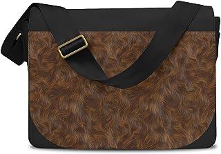 Wookie Fur Star Wars Inspired Messenger Bag - One Size Messenger Bag