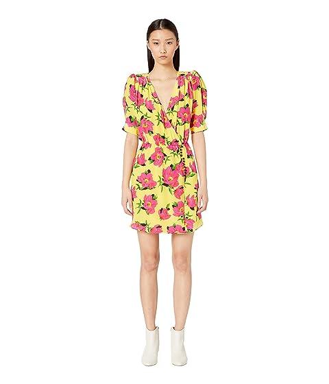 The Kooples Peony Printed In Love Dress