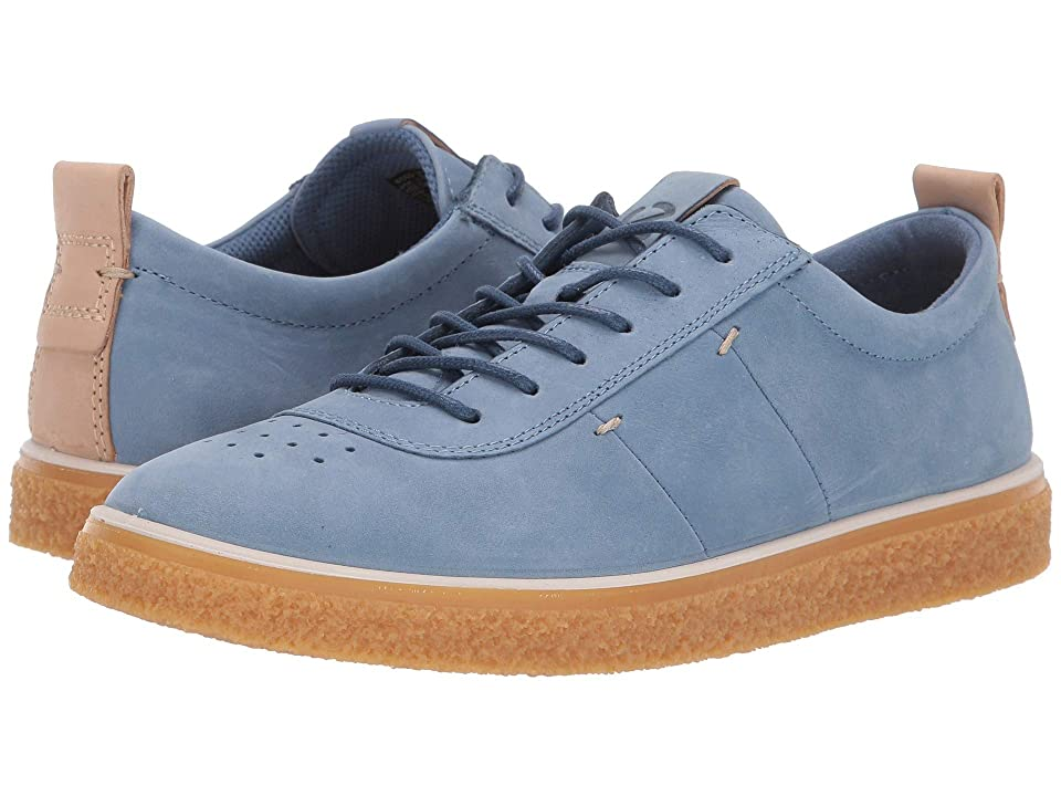 ECCO Crepetray Lace-Up (Retro Blue Nubuck Leather) Women