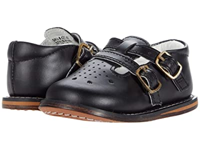 Josmo Kids T-Strap Buckle Shoe (Infant/Toddler) (Black) Kid