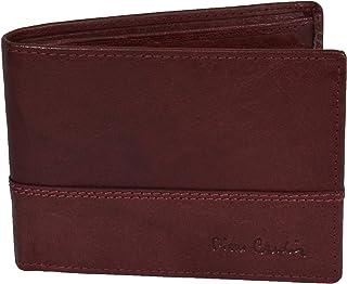 Pierre Cardin, Portefeuille pour Homme, en Cuir Véritable, Porte-cartes et porte-monnaie, RFID Coffret Cadeau (Bordeaux Cl...