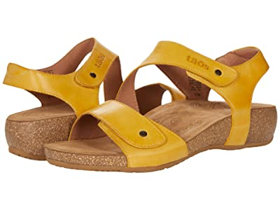 Taos Footwear Lovely (Yellow) Women