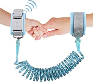Anti Lost Wrist Link,ShowTop Kid Leash Harness with Induction Lock,Safety Wrist Leash for Toddlers,Babies & Kids, Wrist Tr...