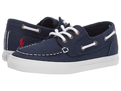 Polo Ralph Lauren Kids Bridgeport (Little Kid) (Navy Heavy Twill/Red Pony) Kid