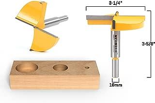 Yonico 43071C 3-1/4-Inch Diameter Carbide Forstner Drill Bit 10mm Shank