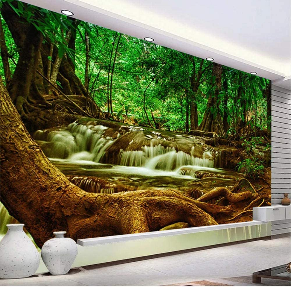 Clhhsy 3D Art Wallpaper New York Mall Mural Waterproof Custom Can In a popularity
