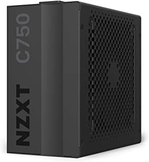 NZXT C750 - NP-C750M - 750 Watt PSU - 80+ Gold Certified - Hybrid Silent Fan Control - Fluid Dynamic Bearings - Modular De...