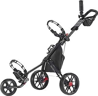 CaddyTek CaddyLite 11.5 V3 Deluxe Cartush Cart Golf push