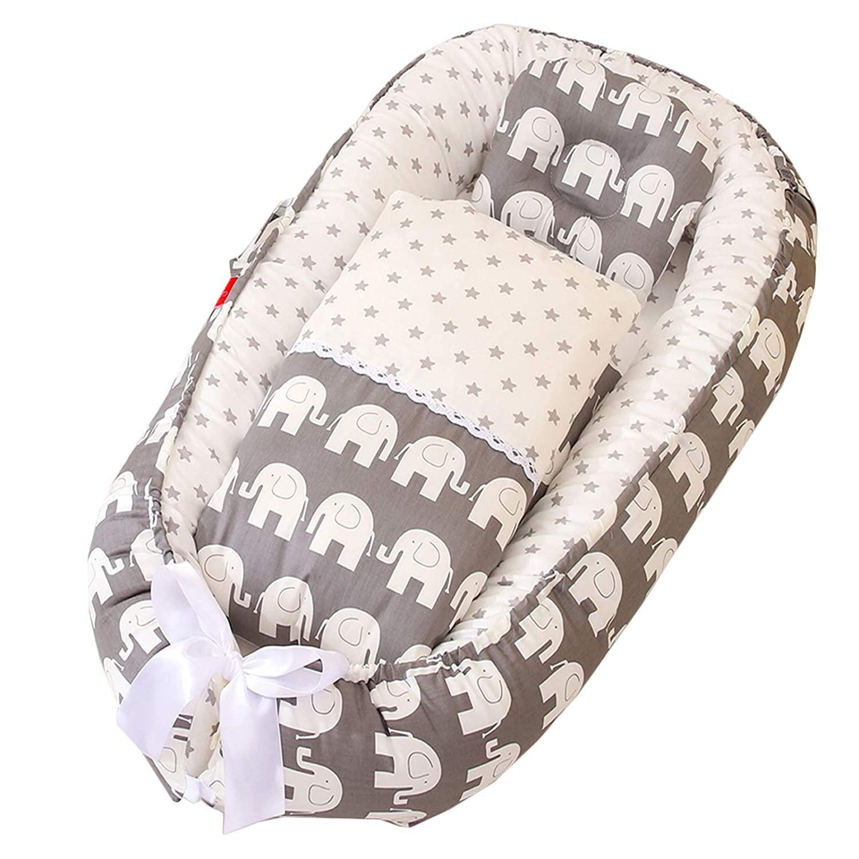 Brand new ABREEZE Baby Lounger Nest Elephant Newborn Co-Sleeping Loun Sale item
