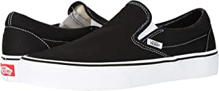Unisex Adults' Classic Slip On Trainers Black/White