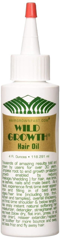 破産中世の構造的Wild Growth Hair Oil