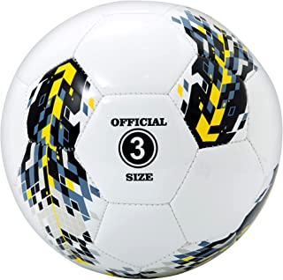 Kids Soccer Ball Size 3, PECOGO Premium TPU Soccer Ball...