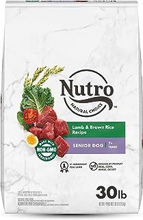NUTRO NATURAL CHOICE Senior Dry Dog Food, Lamb & Rice Recipe, 13.61kg (30LB) Bag