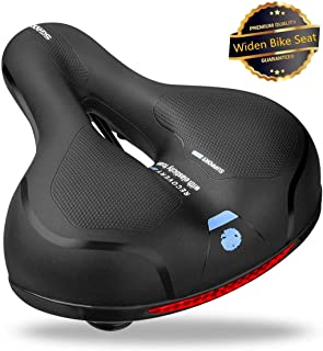 SGODDE Comfortable Bike Seat- Replacement Wide Bicycle...