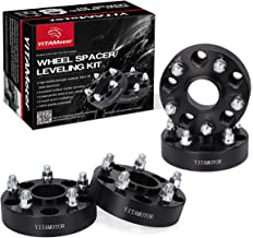 YITAMOTOR Wheel Spacers 5x5 for JL WK2, 1.5 inches Forged Hubcentric Wheel Adapters, 14x1.5 Studs & 71.5mm hub bore Compatible for 2018 Wrangler JL, 2011-2018 Grand Cherokee WK2, Dodge Durango