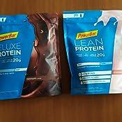 PowerBar DELUXE Protein Vanilla 500g - Suero de Leche en Polvo de alto Contenido en Proteínas - sin Azúcar y sin Grasa