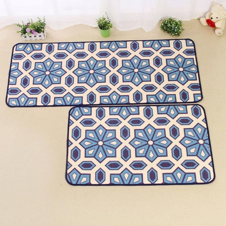 The kitchen floor mat Strip pad The door Bathroom non-slip Water-absorbing mats Doormat-C 50x180cm(20x71inch)