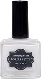 Born Pretty Nail Stamping Nail Polish (White)