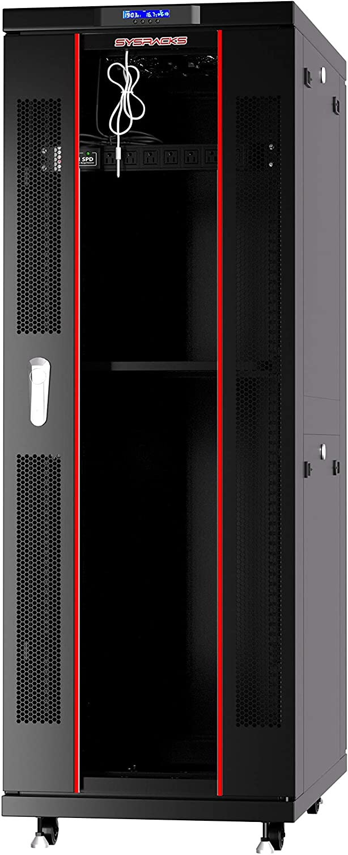 Sysracks Server Rack Cabinet 42U39in Depth Floor Standing