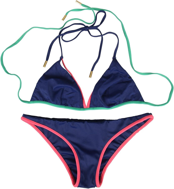 Dsquared Women's Multicolor Two Piece Bikini Swimsuit US L EU 44