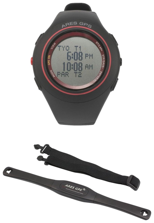娘カカドゥスナック[アレス]ARES GPSシリーズ GPS機能付ランニングウォッチ 心拍計セットモデル AR-1081C