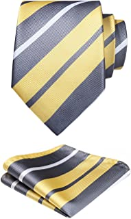 Best grey yellow tie Reviews