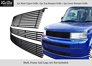 Passenger Side Black Bumper Grille for Scion xB 2004-2006 New SC1027100 Right
