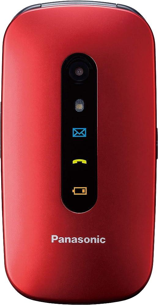 Panasonic kx-tu456 cellulare facilitato, ampio display a colori,tasti grandi, chiamate prioritarie in vivavoce KX-TU456EXRE