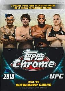 2019 Topps UFC Chrome BLASTER box (8 pks/bx)