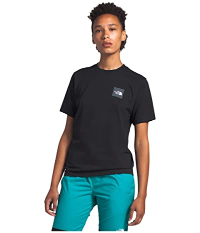 The North Face Heavyweight Box Short Sleeve Tee (TNF Black) Women