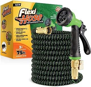 Flexi Hose Lightweight Expandable Garden Hose | No-Kink Flexibility – Extra..
