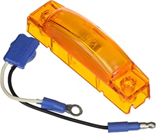 """Grote 65513 Yellow SuperNova 3"""" Thin-Line LED Clearance Marker Light (47243 + 66930)"""