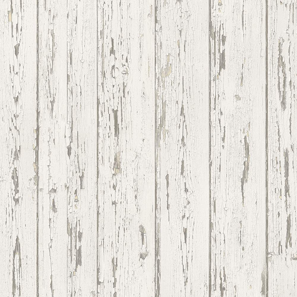 Norwall FH37527 Shiplap Prepasted Sales for sale Whit Antique Beige Wallpaper Ranking TOP14