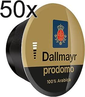 50 X Nescafe Dolce Gusto Coffee Capsules - Dallmayr Prodomo