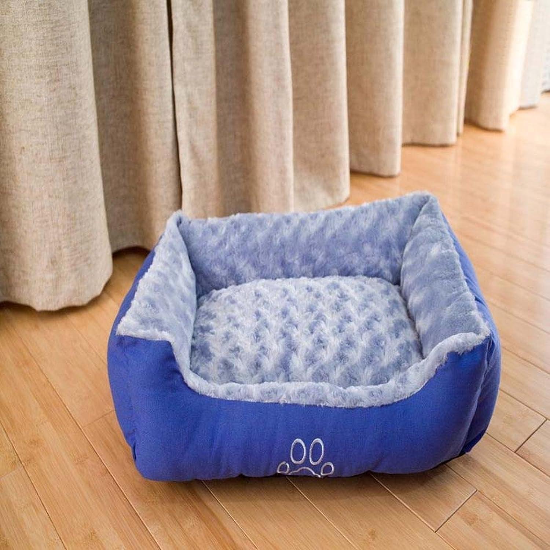 Dixinla Pet Bed Pet Pet Nest bluee Pet Mat bluee