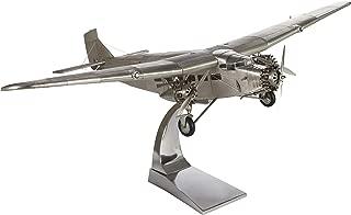 Authentic Models Ford Tri Motor Plane Model in Aluminum