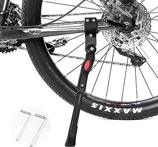自転車 キックスタンド サイドスタンド 片足 サイドスタンド 自転車 スタンド 長さ調整可能 20~27対応 軽量 汎用 センタースタンド ママチャリ/ロードバイク/クロスバイク/マウンテンバイク/MTB等用