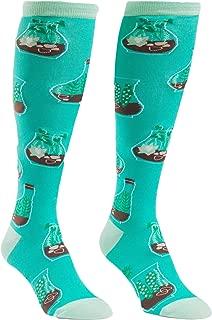 Sock It To Me Terrific Terarium Knee High Sock OS