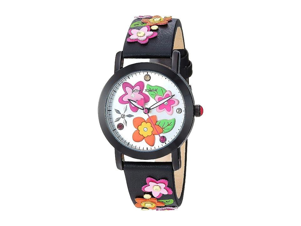 Betsey Johnson - Betsey Johnson 37BJ00677-04BX Floral Dial