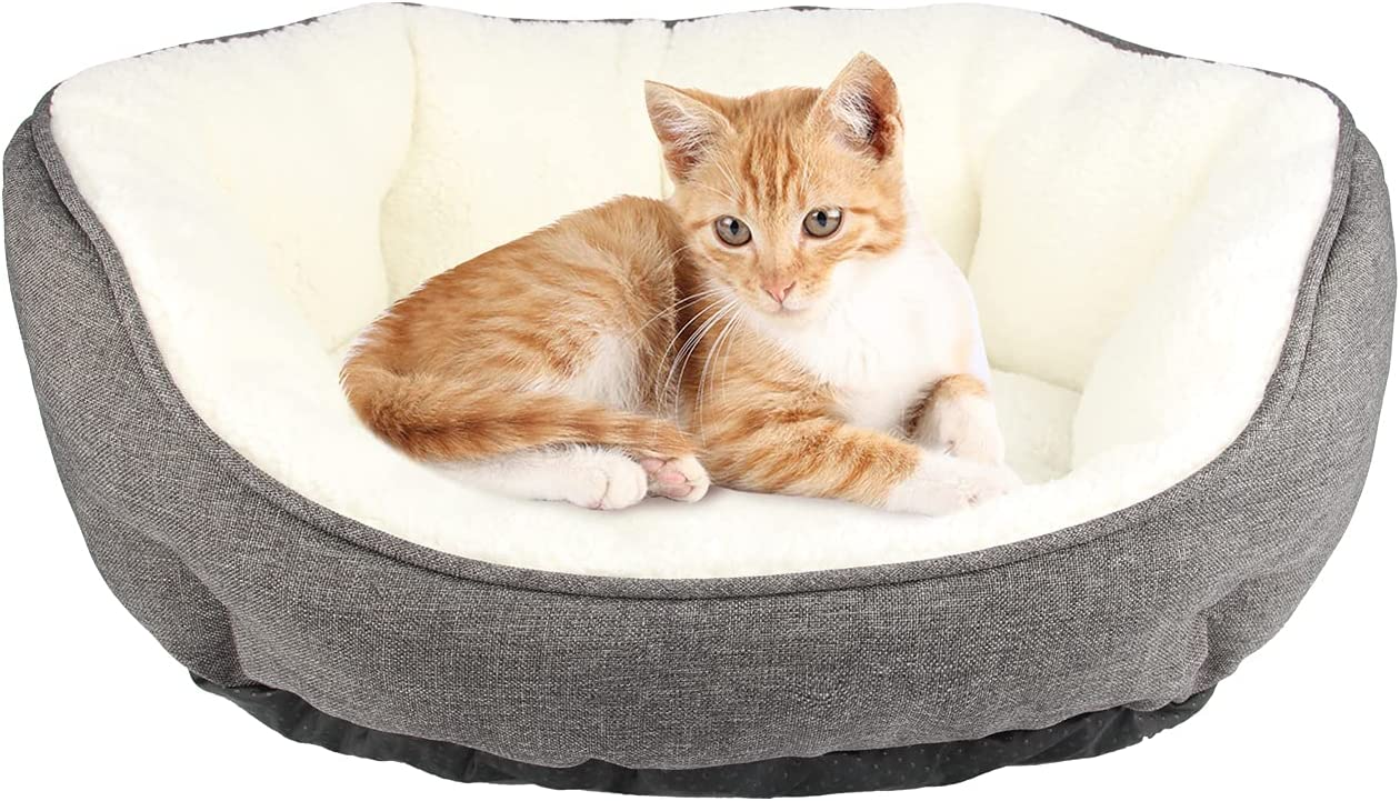 TORMAYS Round Dog Bed Calming Medium P Warming for Los Angeles Mall half